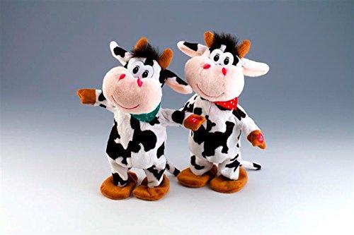Singende und tanzende Kuh mit Musik