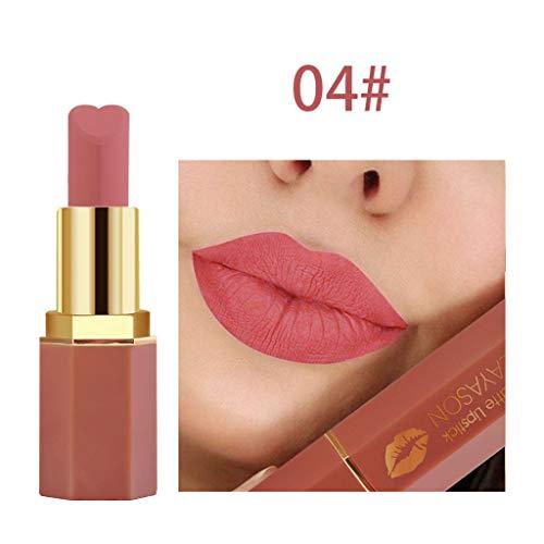 BOLANQ Cosmetics Matte Und KüRbis Farbe Bohnenpaste Lip Solid Gloss Lipstick Long Last - Pupa Augen-palette