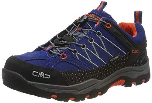 CMP Unisex-Erwachsene Rigel Low Trekking-& Wanderhalbschuhe, Blau (Marine-Tango 05md), 35 EU -