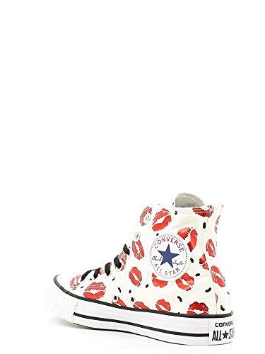 ... Sneaker alte Donna Bianco/Rosso ...