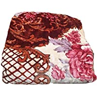 Signature Premium Double Bed Blanket, King-Size, Multicolored || 300TC