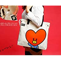 BTS Casual Messenger Bag Crossbody Bag Shoulder Bag Travel Bag Handbag Tote Bag Purse (A)