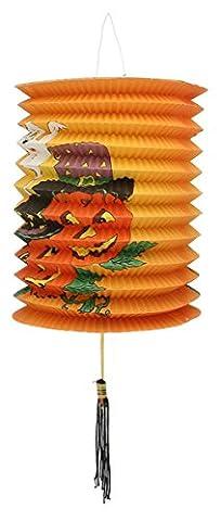 EOZY 1pcs Lanternes Citrouille d'Halloween Led Lampe Ou Bougie Décoration Outil Cosplay