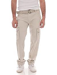 Ritchie - Pantalon Battle Carmin - Homme