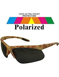 Polarized Carp Fly Fishing Camo Sunglasses & Case Pol33