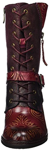 Laura Vita Ladies Alizee 11 Boots Red (vino)