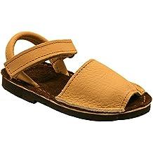 15091 - Sandalias ibicencas con velcro beige