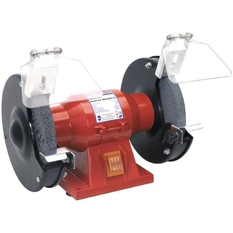 Sealey bg150cx Grinders doppia, con dischi abrasivi per utensili per la lavorazione del legno, ideale per smerigliare bianchi di acciaio super rapido
