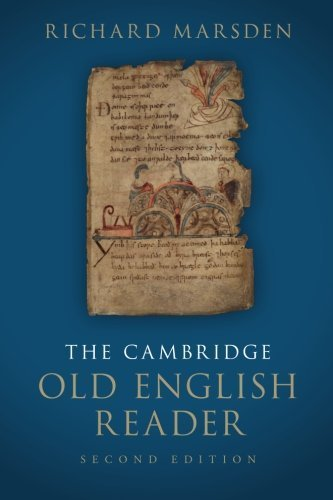The Cambridge Old English Reader 2nd edition by Marsden, Richard (2015) Paperback