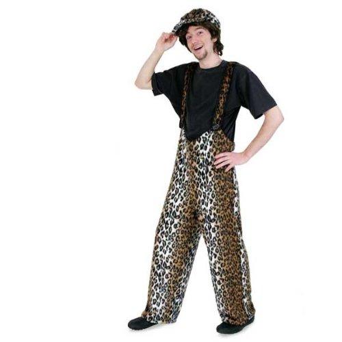 WOOOOZY Kostüm-Hose Leopard, Unisex Gr. XL