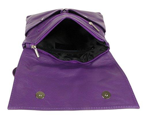 Craze London, Borsa a tracolla donna S Purple