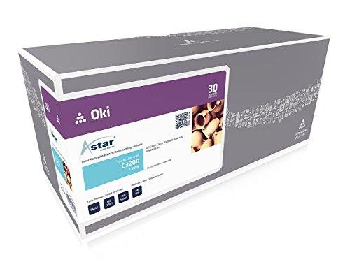 Preisvergleich Produktbild Astar AS14539 Toner kompatibel zu OKI C3200 42804539, 3000 Seiten, cyan
