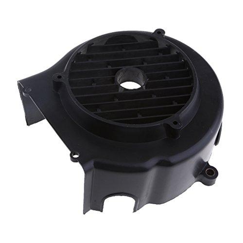 Homyl 1 Stück Lüfterabdeckung Staubfilter LüfterabdeckungVentilator Gitter Gehäuselüfter Dust Filter für 125 150cc Motor - Schwarz 11cm