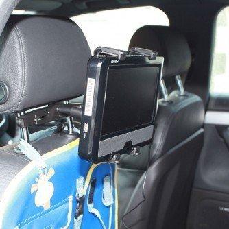 Ultimate Addons Kopfstützen Tablet DVD Halterung für LG DP391B tragbarer DVD Player