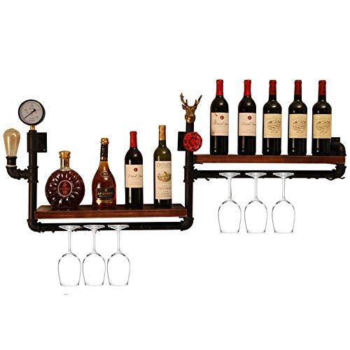 Stemware Holder & Wine Racks FüR Flaschen | AufbewahrungsbehäLter FüR Schnapsflaschen | Halten Sie 10 Flaschen | Personifizieren Sie Wein-Speicher-Regal-Gestell | Weinregal Wandmontage Rx Rack