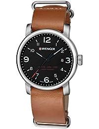 WENGER Herren-Armbanduhr WENGER URBAN METROPOLITAN 01.1041.136 Analog Quarz Leder WENGER URBAN METROPOLITAN 01.1041.136