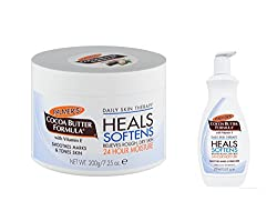 Palmers Daily Skin Therapy SET of 2 (Heals Softens Moisturizer+Lotion) with Ayur Product in Combo
