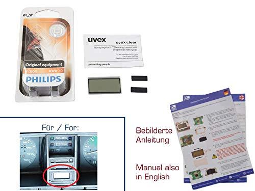 Preisvergleich Produktbild gearworks Display für T3 Bus Digitaluhr Kombiinstrument Reparatur