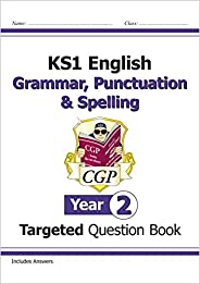 KS1 English Targeted Question Book: Grammar, Punctuation & Spelling - Ye