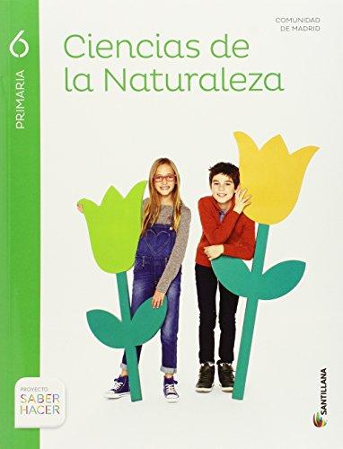 CIENCIAS DE LA NATURALEZA MADRID 6 PRIMARIA SANTILLANA - 9788468032030 por Aa.Vv.
