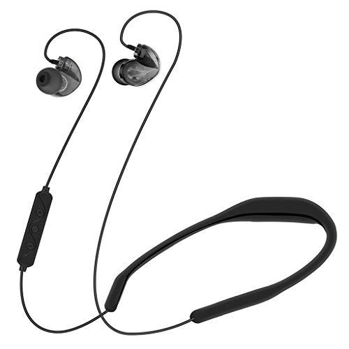ALIKEEY Kabellose Kopfhörer LX8 High End Boutique Dynamic Iron Sport Bluetooth Headset Spracherkennung Ohrhörer für iPhone, iPad, Samsung, Huawei, xiaomi und mehr (Iron Man-ohrhörer)