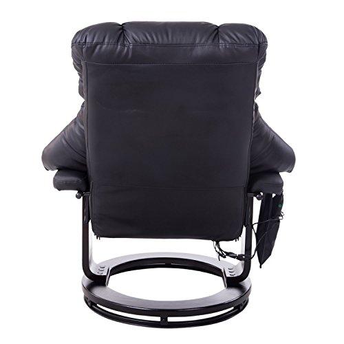 homcom 700-008BK Massagesessel mit Heizfunktion - 3
