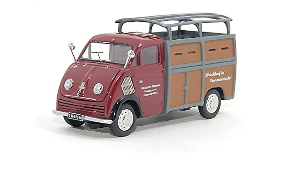 Dkw Schnellaster Viehtransporter Metzgerei Brunner Modellauto Fertigmodell Premium Classixxs 1 43 Spielzeug