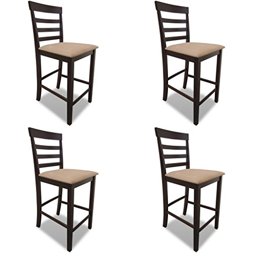 vidaXL-Table-de-bar-blanche-en-bois