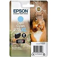 Epson C13t37954010Claria Photo HD 378x l cartouche d'encre–Light Cyan Amazon Dash Replenishment est prêt