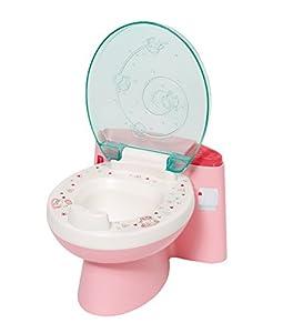 Zapf Baby Annabell Fancy Toilet Inodoro para muñecas - Accesorios para muñecas (Inodoro para muñecas, 3 año(s), Azul, Rosa, Blanco, Baby Annabell, Niño, Chica)