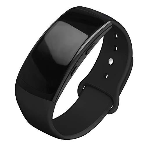 OenFoto Sports Armband kompatibel Gear Fit 2 Pro/Fit 2, Zubehör Ersatzgurt aus Silikon für Samsung Gear Fit 2 Pro SM-R365 und Gear Fit 2 SM-R360 Smartwatch - Gear S Für X Uhrenarmbänder Große