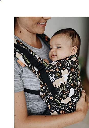 Porte-bébé ergonomique Tula Free-to-Grow Fox Tail Avant et Arrière du nouveau-né à l'enfant Sécurité avec Capuche 3,5-20 kg