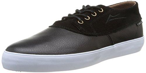 Lakai Camby Mid, Chaussures de skateboard homme Noir (Black Leather)