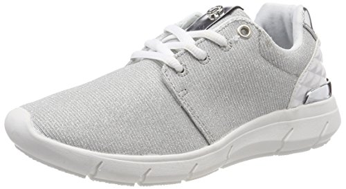 TOM TAILOR Damen 4891702 Sneaker, Silber (Silver), 41 EU