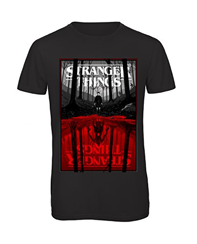 Bughyprint t-shirt stranger things, taglia l