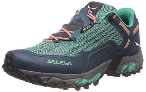 SALEWA WS Speed Beat GTX, Scarpe da Trail Running Donna, Verde (Shaded Spruce/Fluo Coral 8631), 36 EU