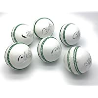 Mozi Sports per Hand gen/äht Gewicht: 156 g Senior offizielle B/älle Set aus 6 St/ück Herren Club hochwertig Cricket-Ball Kreis