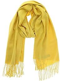 7b8408967f0 Amazon.fr   Echarpe Jaune Moutarde - Foulards   Echarpes et foulards ...