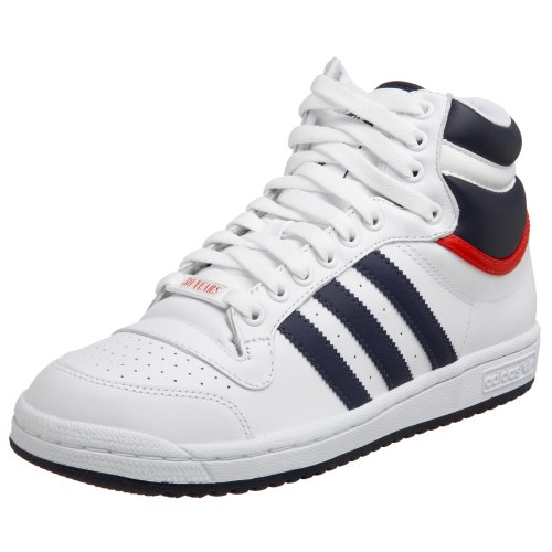 Adidas Top Ten High G09836, Baskets Mode Homme, Blanc, 40 EU