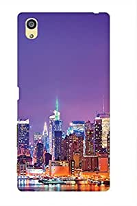 AMAN City Of Lights 3D Back Cover for Sony Xperia Z5 Dual