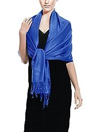 Peach Couture 198x 71sólido Eco-friendly suave & Silky Pashmina chal Wrap robó