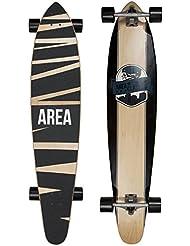 "My Area Longboard ""Zick Zack"" - 116,8cm x 24cm - Cruiser en érable canadien"