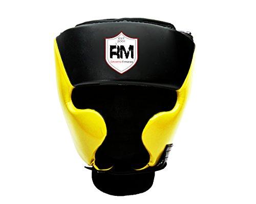 RingMasterUK Kopfschutz für Kinder, Kopfbedeckung für Boxen, Kampfsport, Kickboxen
