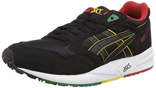 ASICS Gelsaga, Chaussures Multisport Outdoor Mixte adulte Noir (Black/White 9090)