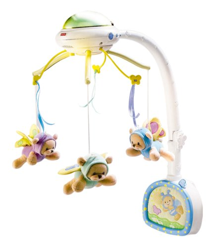 Mattel C0108-0 - Fisher-Price Traumbärchen Mobile
