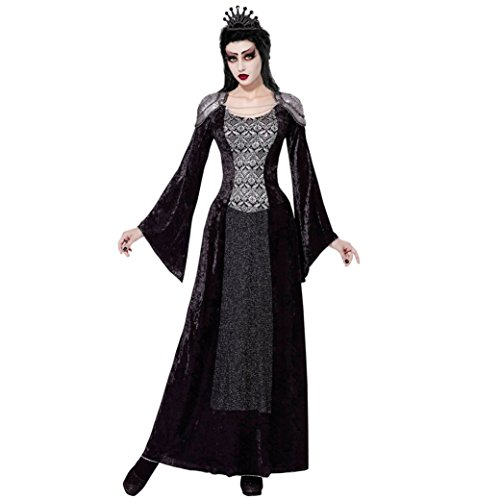 Widmann 07702 Erwachsenenkostüm Dunkle Königin, M (Dunkle Königin Kostüm)