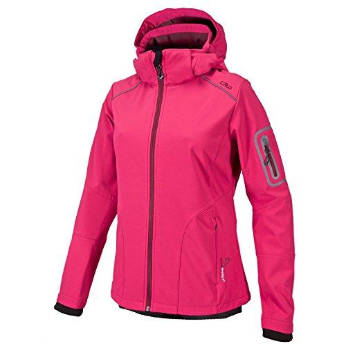 CMP Campagnolo Damen Softshell Jacke Sondermodel Franceska by pignolo-su,Pink,38
