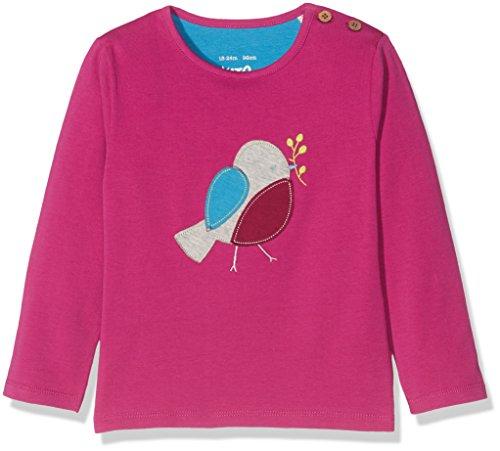 Kite Baby-Mädchen Langarmshirt Robin t-Shirt, Pink (Berry), 86