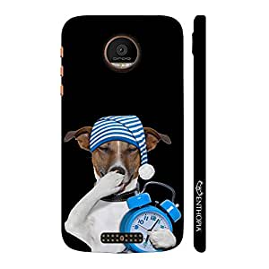 Enthopia Designer Hardshell Case Sleeping Time Back Cover for Motorola Moto Z