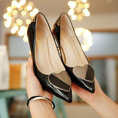LvYuan-ggx Da donna Tacchi Comoda Scarpe formali PU (Poliuretano) Autunno Formale Serata e festa Footing Comoda Scarpe formali A stilettoNero Beige almond